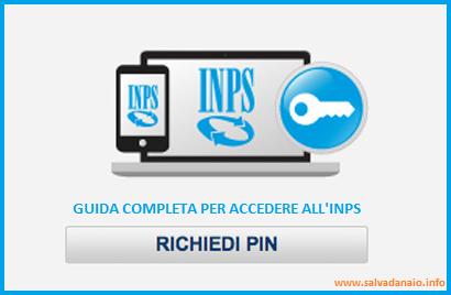 Richiesta Pin per accedere ai servizi Inps Telematici