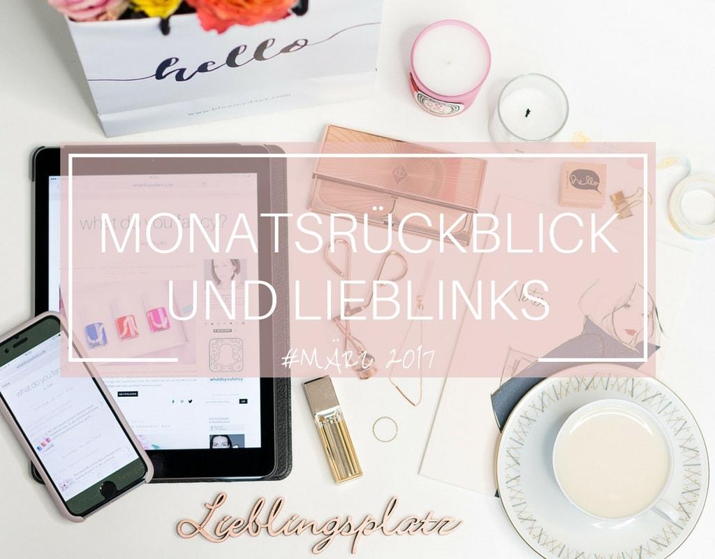 whatdoyoufancy Monatsrückblick März 2017 Cover