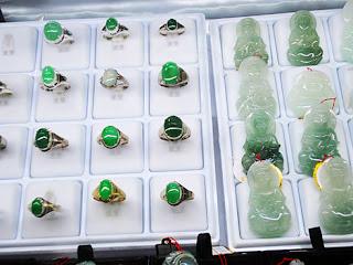Jade rings and Buddha Pendants