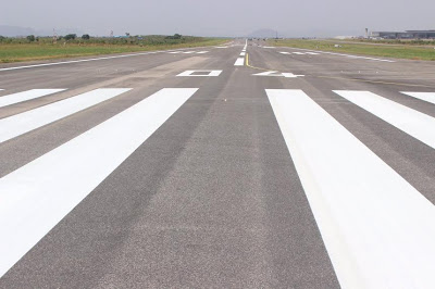 Good News: See part of the renovated runway of the Nnamdi Azikiwe International Airport, Abuja  (Photo)
