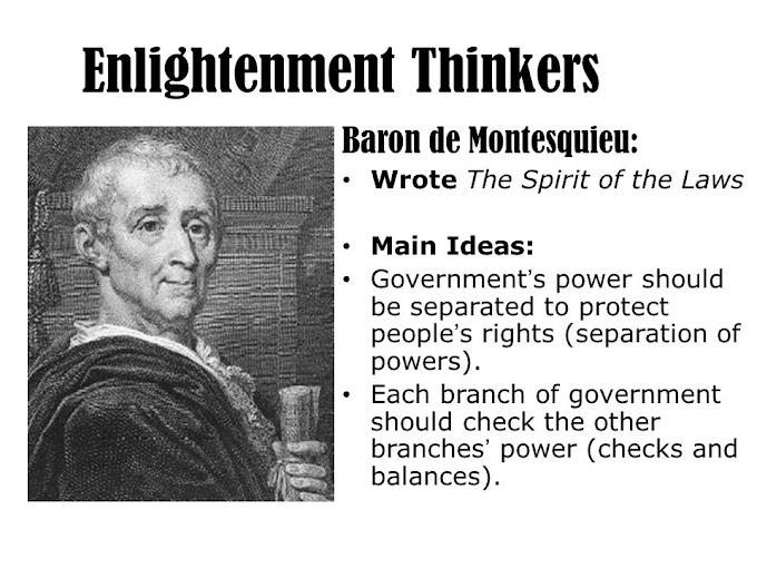 S.Montesquieu – nhà triết học Khai sáng với tư tưởng đề cao tinh thần pháp luật