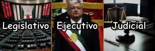 💚♡❤️ división de poderes en el Estado Mexicano: ejecutivo, legislativo y judicial