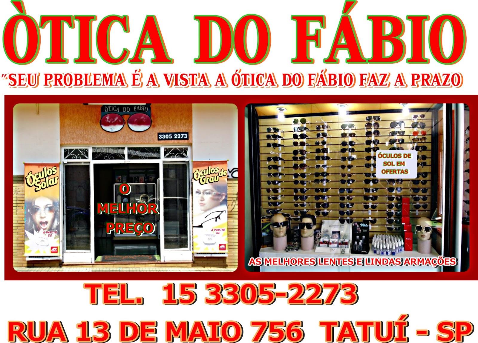 ÓTICA DO FÁBIO TATUÍ ~ MEGA RÁDIO GOSPEL 3d36094070