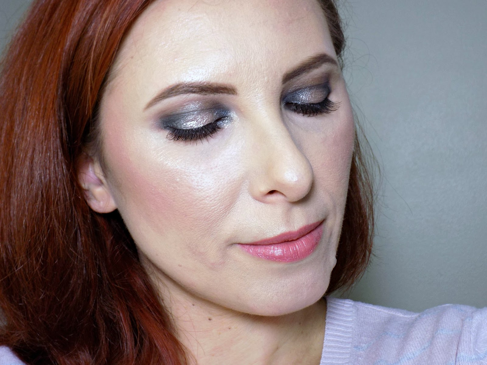 Makeup look using Too Faced Chocolate Bon Bon palette