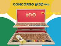 """""""Concorso 100 FILA"""" : in palio 50 Valigette in Legno Giotto ( 80€ il valore di ogni premio)"""