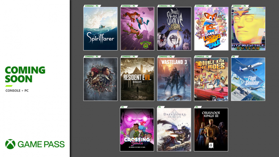 The list of monthly additions to Xbox Game Pass looks impressive every time.