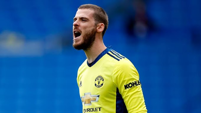 Manchester United goalkeeper David de Gea says he feels the full support of his teammates and staff.