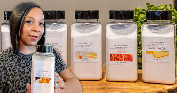 Arika Randolph, founder of Scents By Her