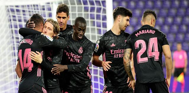Real Valladolid vs Real Madrid Highlights