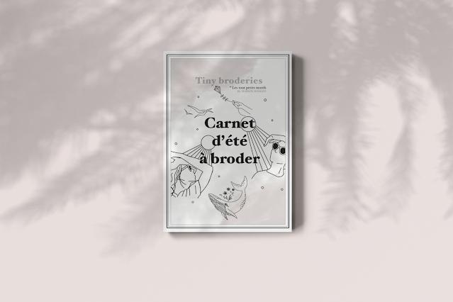 Carnet d'été à broder - Marion Romain