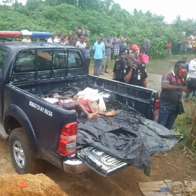 Graphic photos: Generator fume kills family of six in Rivers State