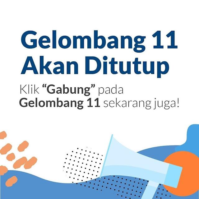Gelombang 11 Kartu Prakerja Akan Ditutup Kawan Rembang !