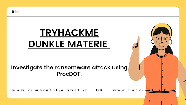 TryHackMe Dunkle Materie