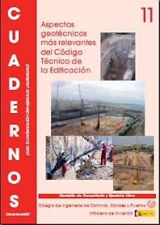 Cuadernos CICCP nº 11 - Aspectos geotécnicos más relevantes del Código Técnico de la Edificación
