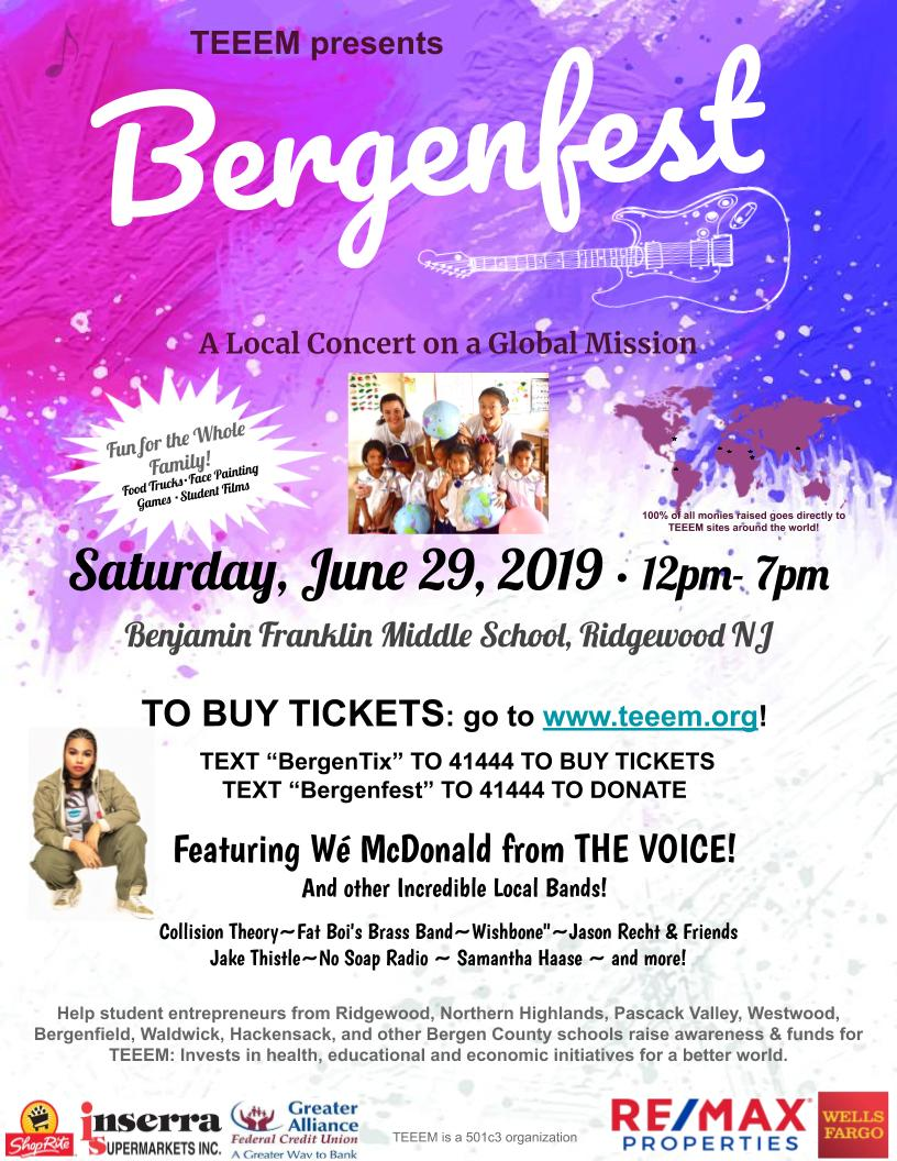 Bergenfest Concert Features Wé McDonald of The Voice