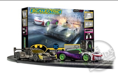 UK Toy Fair 2020 Hornby Hobbies Scalextric Spark Plug Batman vs Joker Race Set