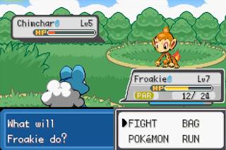 Pokemon Stone Dragon 1 para GBA Batalla Combate Pokemon