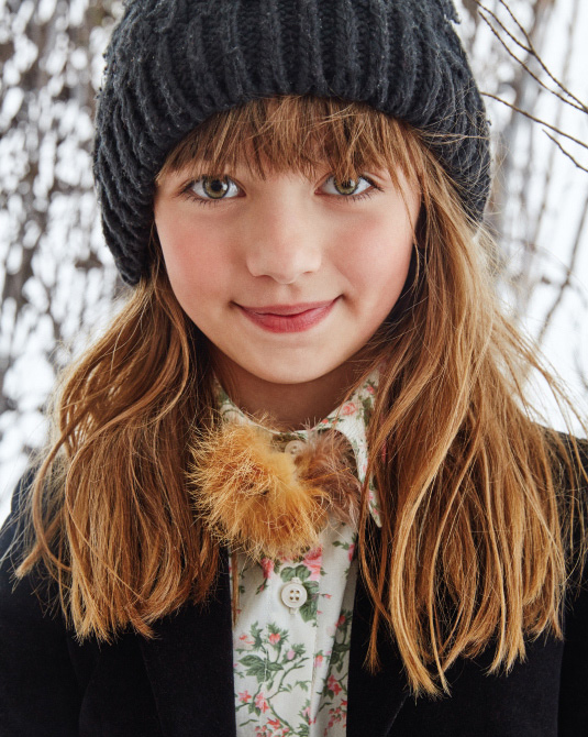 Gorros tejidos invierno 2017 moda niños.