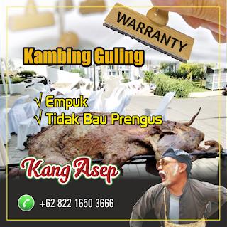 Kambing Guling Bandung Tanpa Prengus, kambing guling bandung, kambing guling,