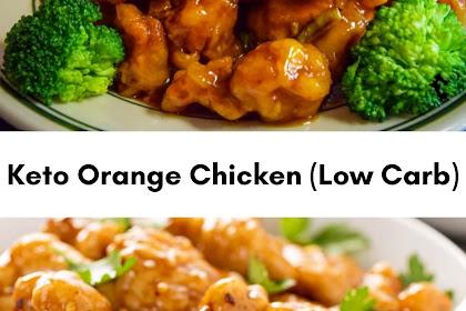 Keto Orange Chicken (Low Carb)