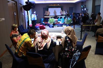 KPC PEN, Kominfo dan Pemprov Lampung Gelar Pertunjukan Virtual Kesenian Tradisional