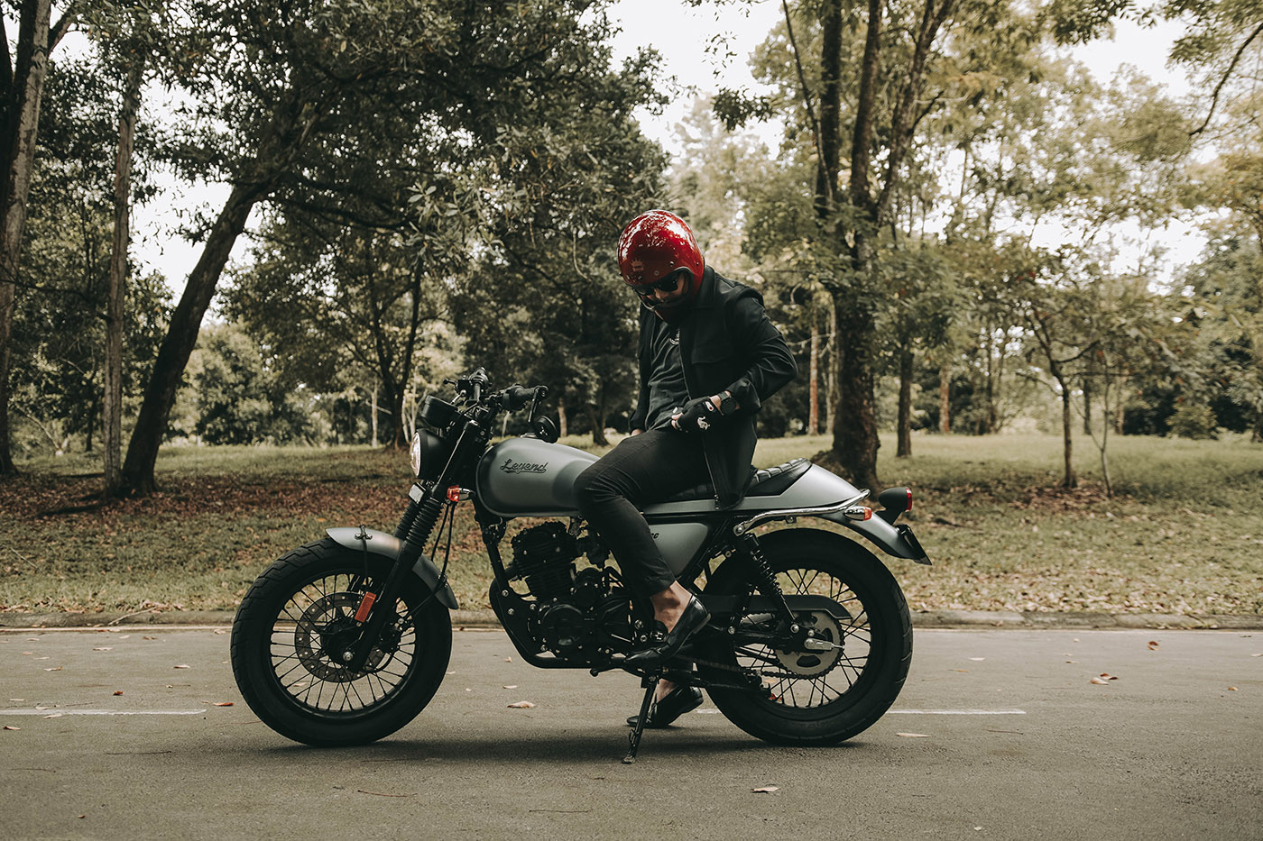 motor custom gpx legend 150 malaysia