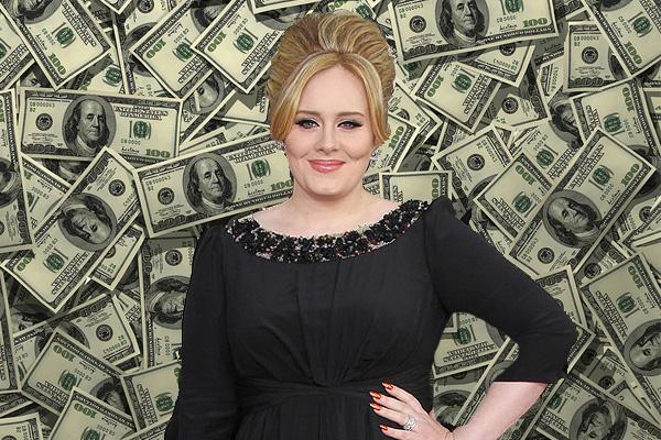 İngiltere'nin En Zengin Ünlüsü Adele Oldu! İşte Liste