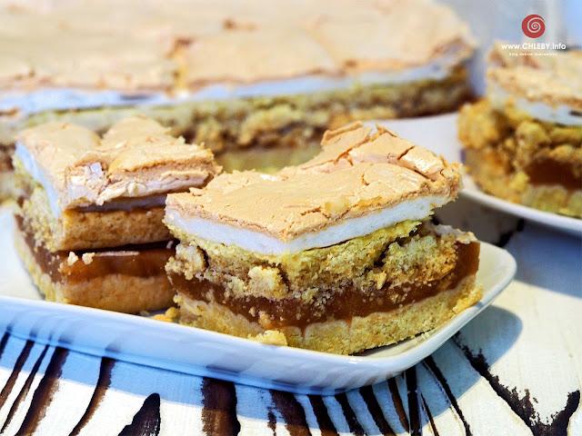 Szarlotka z bezą, jabłecznik, ciasto z jabłkami
