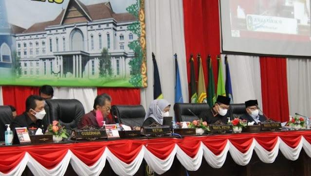Seluruh Fraksi di DPRD Kepri Menyetujui Perombakan OPD Yang Diusulkan Gubernur Ansar
