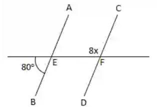 Hubungan sudut pada dua garis sejajar