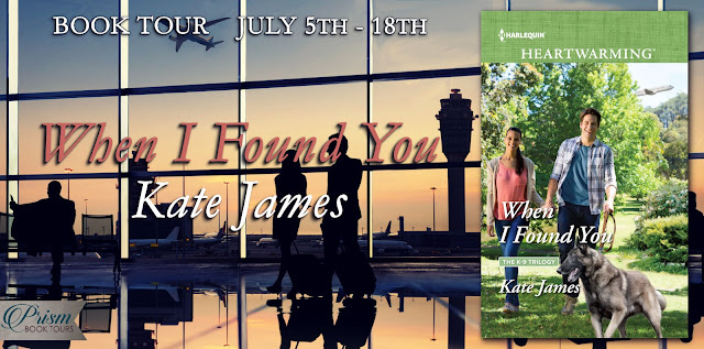 When I Found You by Kate James – Excerpt + #Giveaway