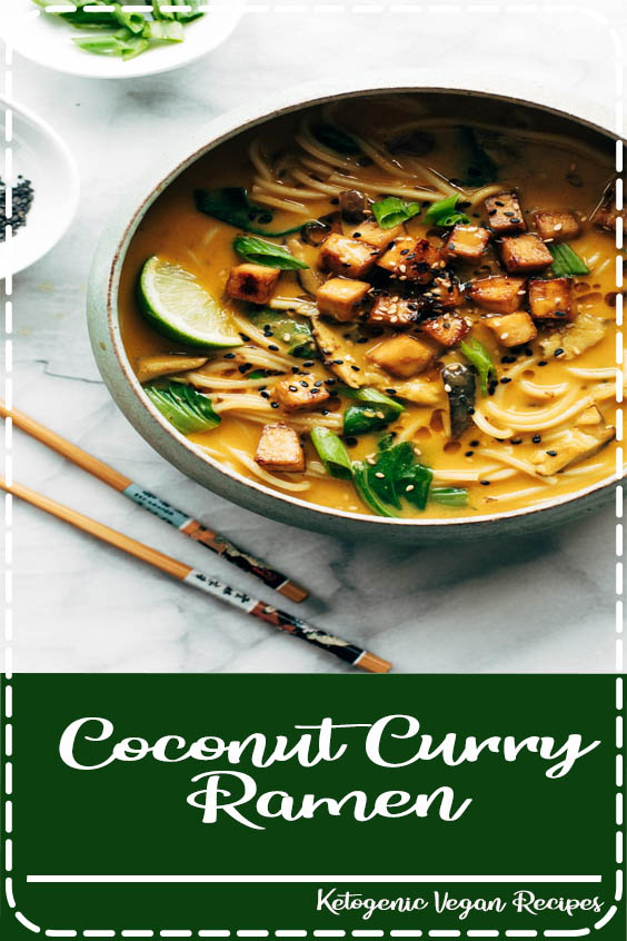 Coconut Curry Ramen with a creamy golden broth Coconut Curry Ramen
