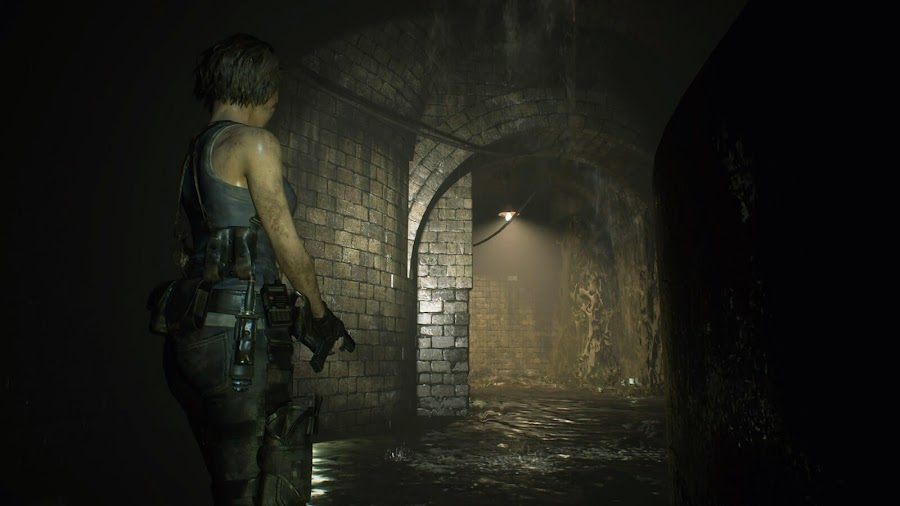 resident evil 3 remake jill valentine stars member raccoon city sewerage system mutant worms survival horror capcom pc ps4 xb1