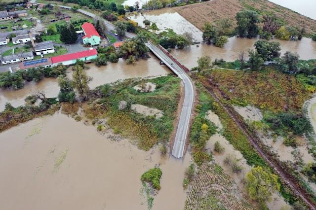 Áradnak a folyók Borsodban: Kiskinizset elzárta a külvilágtól a víz