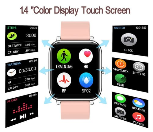 Rinsmola 2021 Smart Watch for Android/iOS Phones
