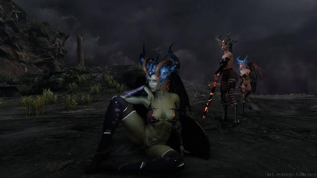 She Will Punish Them: приключения трех демониц