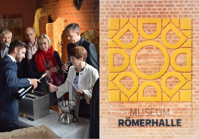 Die VDP Weinversteigerung in der Römerhalle Bad Kreuznach.