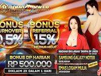 BROMOPOKER - Welcome Bonus 50% Khusus Member Baru