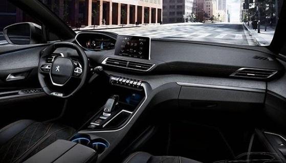 Dashboard New Peugeot 5008