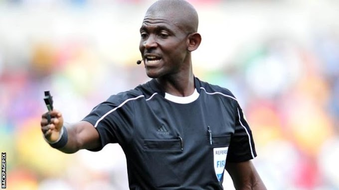 Fifa bans Ghanaian referee Joseph Lamptey for life for 'match manipulation'