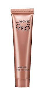 Lakme 9to5 mousse foundation.