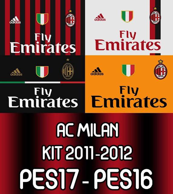 PES 2017 Milan Kit 2011-12 by Mansyah