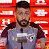 Coletiva: Pratto diz que fica no São Paulo, ao menos, até dezembro: 'Cheguei agora'