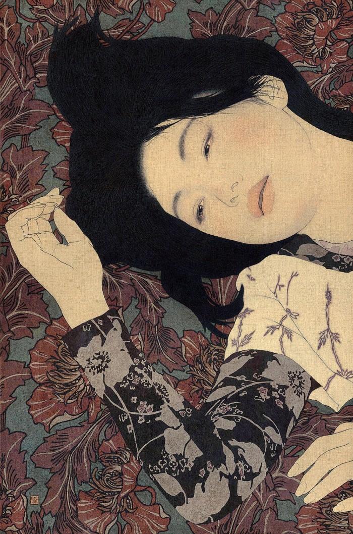 Древняя японская традиция. Ikenaga Yasunari 27