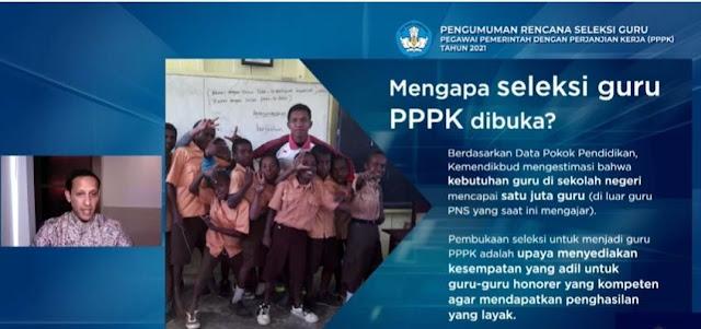 Kuota PPPK Untuk Guru Tak Dibatasi, Gaji dan Fasilitas Setara PNS, Berikut Syarat dan Penjelasannya