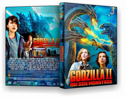 DVD - Godzilla 2 Rei dos Monstros 2019 - ISO