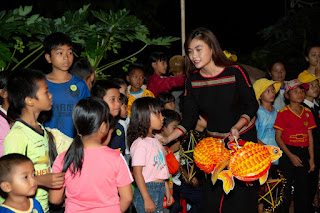 H'Hen Niê, Khánh Vân tổ chức trung thu ở Đắk Lắk