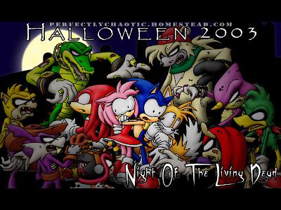 Las Aventuras Sin Fin De Sonic Shadow Y Silver Haloween