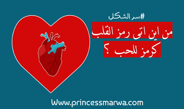 من اين اتى رمز القلب كرمز للحب ؟
