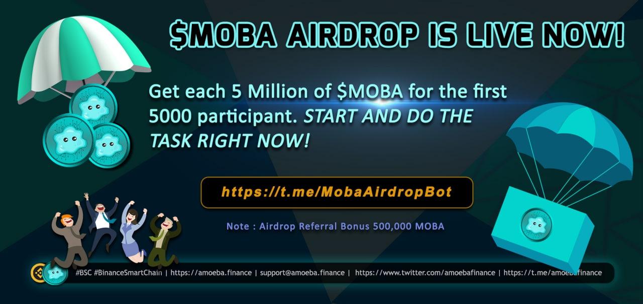Airdrop: MOBA